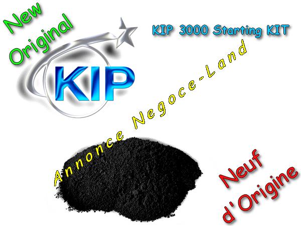 Image Toner KIP 3000 Starting KIT - Laser - Noir - [Original 500gr Neuf] - Z050980092 [Petites annonces Negoce-Land.com]