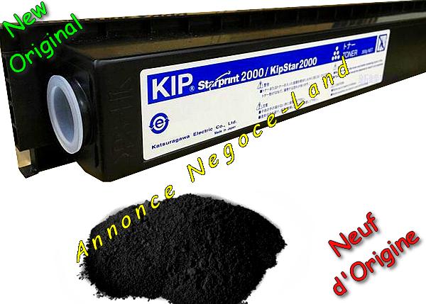 Image Toner KIP KipStar 2000 - Starprint 2000 - Laser - Noir - [Original 300 gr Neuf] [Petites annonces Negoce-Land.com]