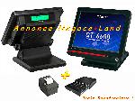 Pack caisse enregistreuse tactile Casio QT-6600 + Son Logiciel offre Caisses tactiles - TPV [Petites annonces Negoce-Land.com]