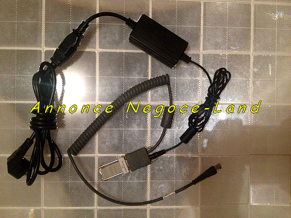 photo de Symbol 50-14000-086 Alimentation chargeur Original + Câble série DB9 RS-232 Serial 25-33665-01 + Ada