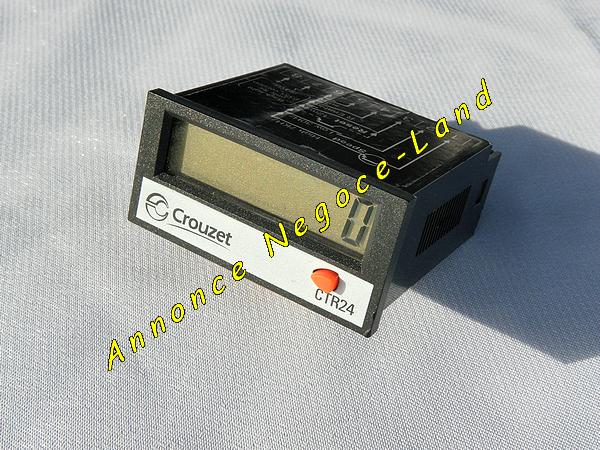 Compteur numérique Crouzet 2241 - 87 622 061 - CTR24 [Petites annonces Negoce-Land.com]