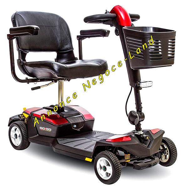 Image Scooter électrique ROYAL MINI 4 ROUES (Fauteuil Roulant) [Petites annonces Negoce-Land.com]