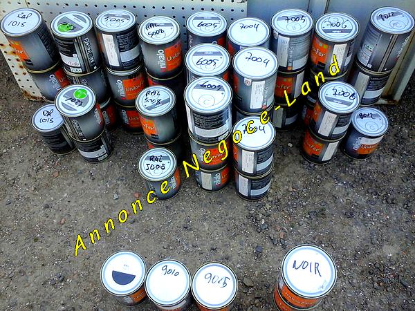 Image Arrivage pots de Peintures 0,75L avec durcisseur [Petites annonces Negoce-Land.com]