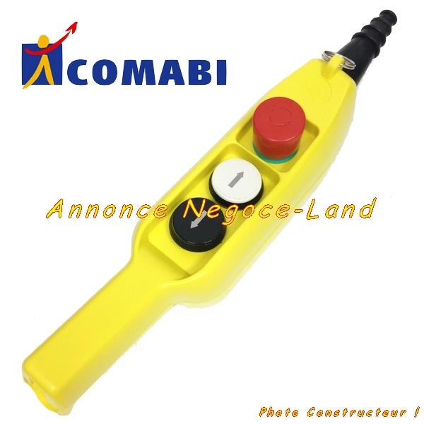 Télécommande de monte matériaux & tuile lève charges Edimatec Comabi (neuve) [Petites annonces Negoce-Land.com]