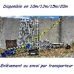 Monte tuiles Comabi Apache Edimatec Charge 150kg lève matériaux 20m max offre Levage - Manutention [Petites annonces Negoce-Land.com]