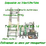 Monte matériaux Haemmerlin Maxial MA415 Charge 150kg lève tuiles 15m (Reconditionné) offer Levage - Manutention [Petites annonces Negoce-Land.com]