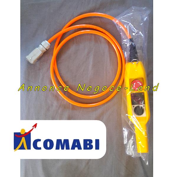 Télécommande complète pour monte matériaux & tuile lève charges Edimatec Comabi Apache 5 (neuve) [Petites annonces Negoce-Land.com]