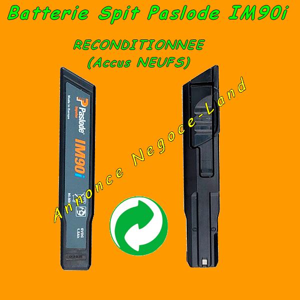 Batterie de cloueur Spit Paslode IM90i Reconditionnée [Petites annonces Negoce-Land.com]