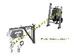 Carte électronique Haemmerlin de monte matériaux monte charges lève tuiles et treuils + Condensateur (Neuf) offre Levage - Manutention [Petites annonces Negoce-Land.com]