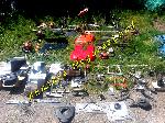 Lot de Pièces détachées de Motoculteur, Tondeuse, Débroussailleuse, taille haie, Motobineuse, Tronçonneuse, Microploeg offre Jardinage [Petites annonces Negoce-Land.com]