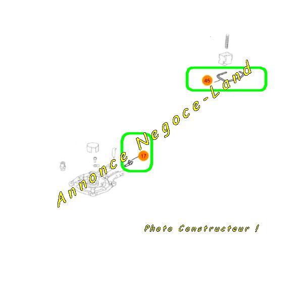 Adaptateur de cartouche de gaz et support pour gâchette de Spit Paslode IM350 / 90CT [Petites annonces Negoce-Land.com]