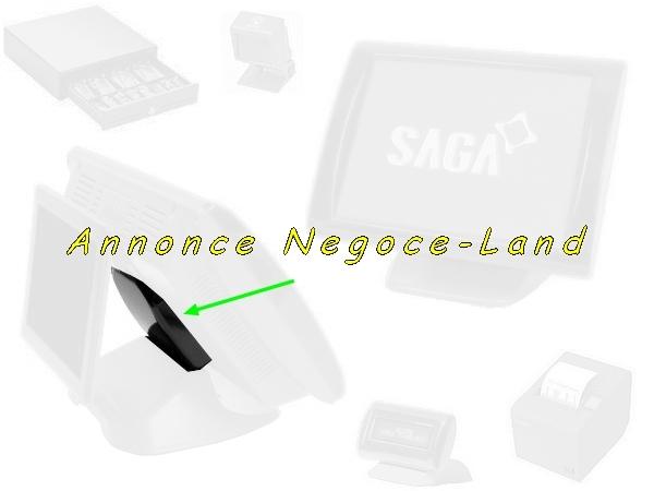 Cache arrière de caisse enregistreuse tactile Saga Perimatic [Petites annonces Negoce-Land.com]